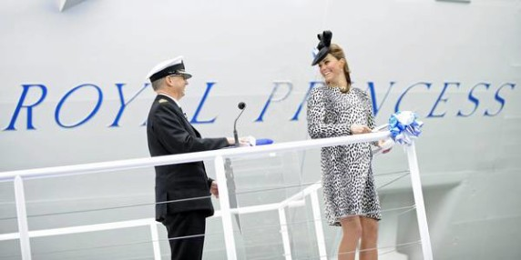 Duchess of Cambridge ship naming