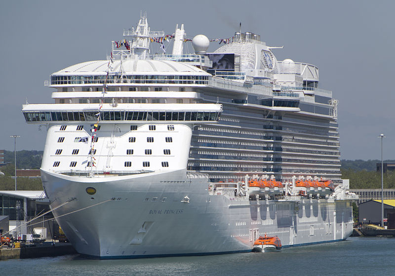 royal princess guasto