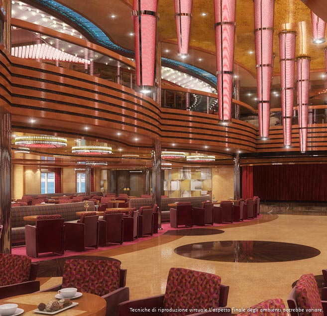 Costa Diadema grand bar orolov
