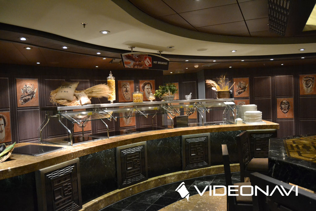 msc splendida buffet