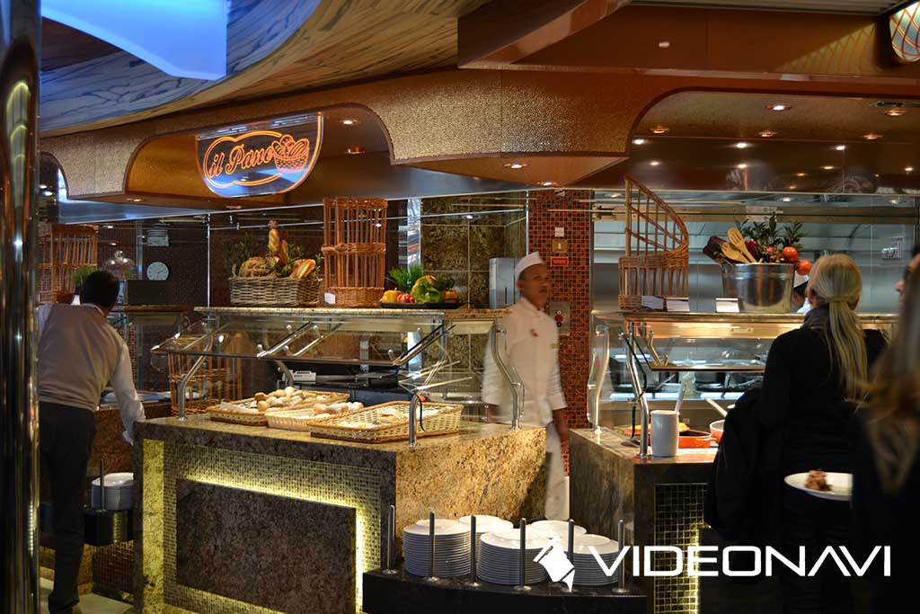 Costa Diadema buffet