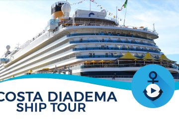costa diadema ship tour