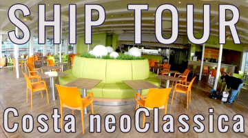 VIDEO Costa neoClassica ship tour