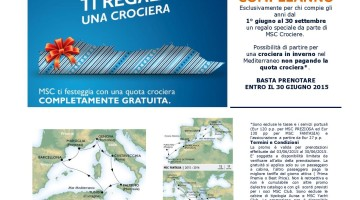offerta msc compleanno