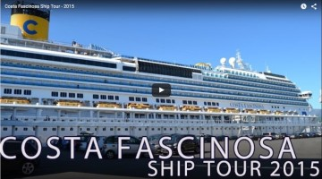 Costa Fascinosa Ship Tour