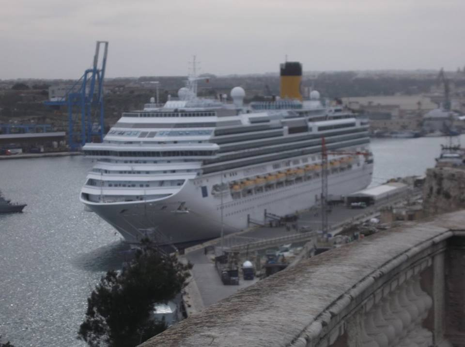 Costa Favolosa Docked