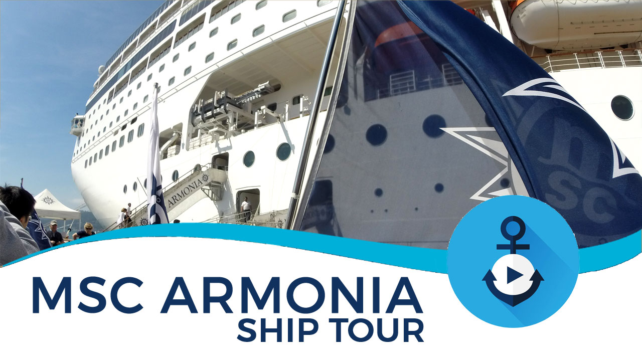 msc armonia renaissance ship tour video