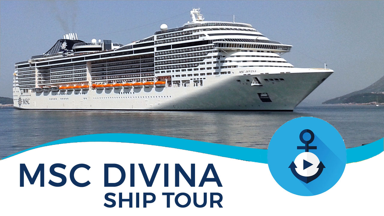msc divina ship tour video