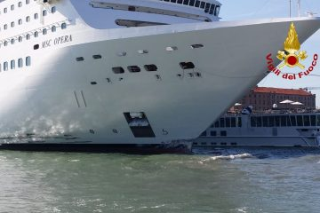 MSC Opera incidente Venezia